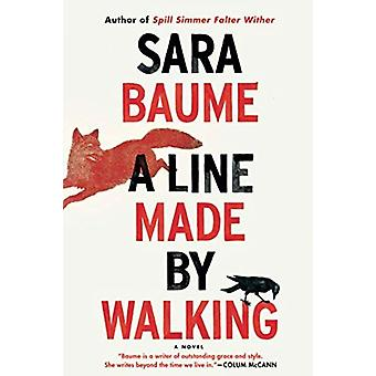 A Line Made by Walking by Sara Baume - 9781328915818 Book
