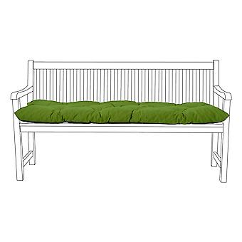 Gardenista® Water Resistant English Ivy Tufted 3 Seater Bench Cushion