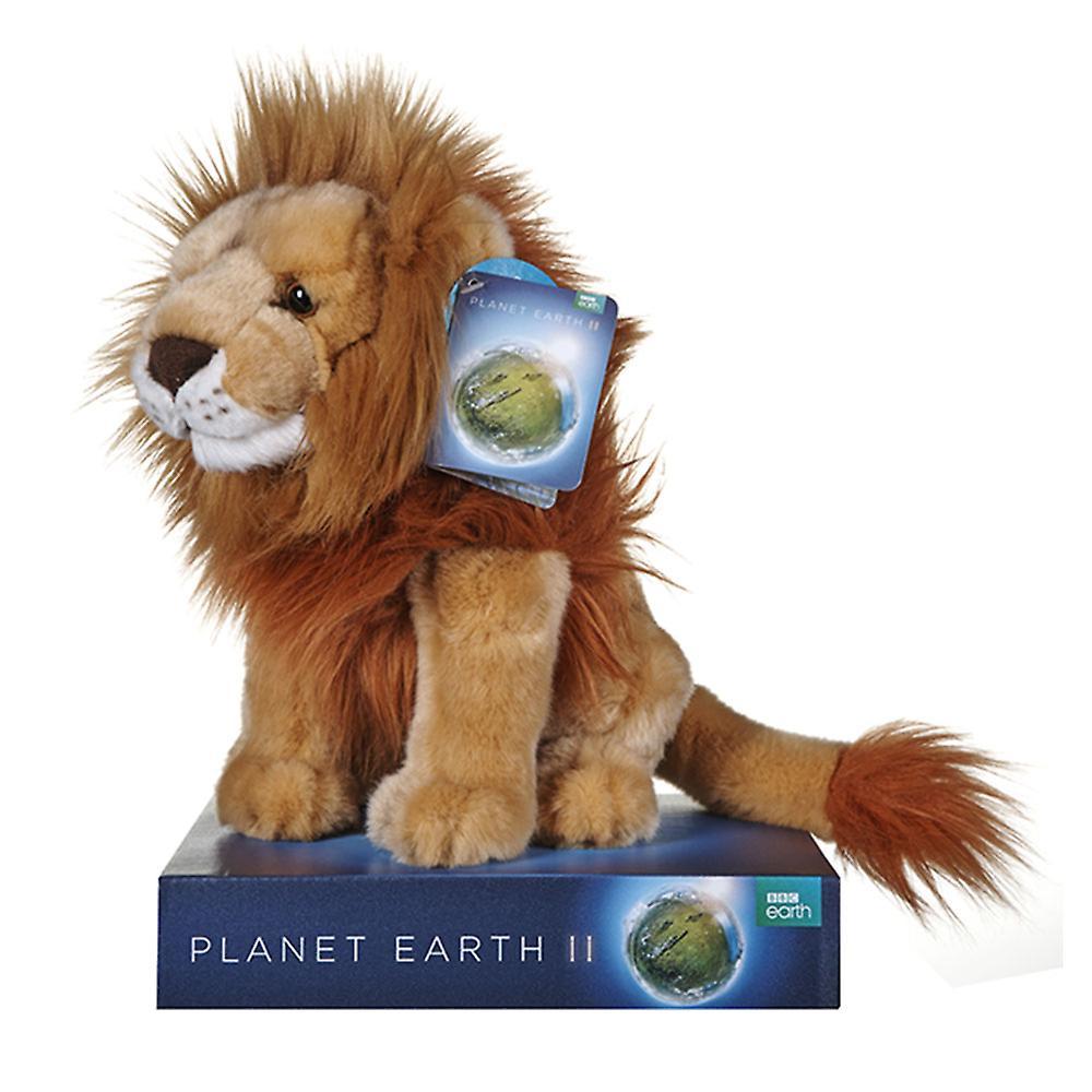 BBC Earth Plush Lion 25cm
