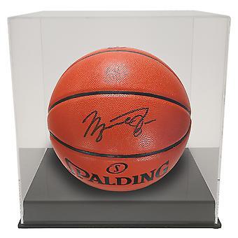 OnDisplay Deluxe UV-geschützte Basketball/Fußball-Ballanzeige-Schwarze Basis