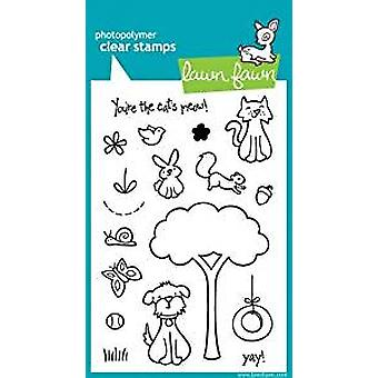 Lawn Fawn Clear Stamps Critters In the 'Burbs (LF310)