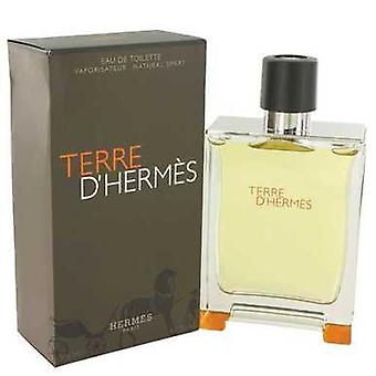 Terre D'hermes de Hermes Eau De Toilette Spray 6.7 Oz (hommes) V728-482920