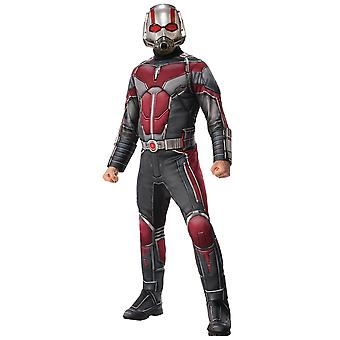 Ant-Man And The Wasp Deluxe Muscle Marvel Avengers Superhero Mens Costume