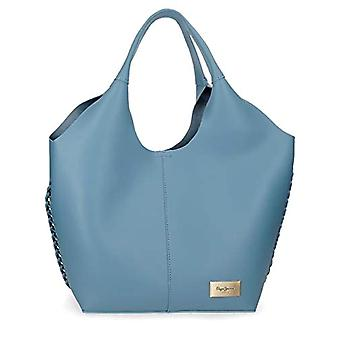 Pepe Jeans Angelica Blue Tote Handbag