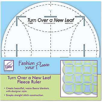 Turn Over A New Leaf Ruler 8