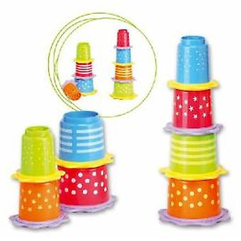 Saro Cubes Stackable with Teether (Toys , Preschool , Babies , Stackable Toys)