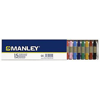 Manley 15 Waxes Manley (Toys , School Zone , Drawing And Color)