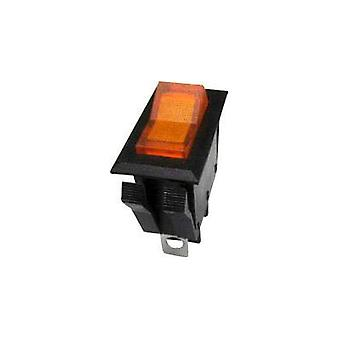 Toggle switch 250 Vac 10 A 1 x Off/On SCI R13-72B-