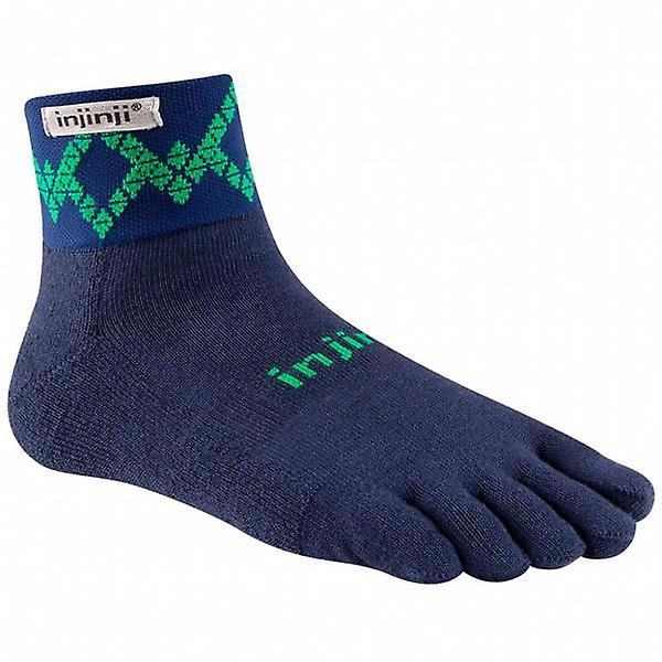 Injinji Trail 2.0 de mediana Peso Mini Crew Toesocks
