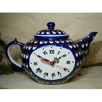 Watch as a teapot, tradition 60 - polacco ceramica - BSN 22855