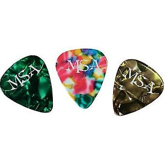 Pick set Hard MSA Musikinstrumente AP 12 AL 12 pc(s)