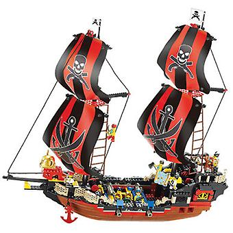 Sluban Black Pearl Pirate 632 Pieces (Toys , Constructions , Vehicles)
