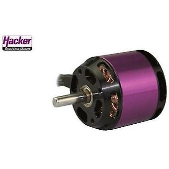 Model aircraft brushless motor Hacker A30-12 L V4 kV (RPM per volt): 1000 Turns: 12