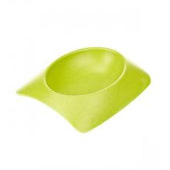 Earthy Pawz Bamboo Fibre Bowl Green Medium (Pack of 6)