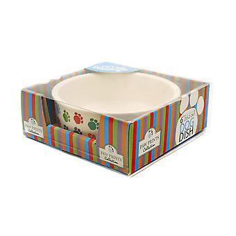Paw Print Ceramic Dish Dog 15cm