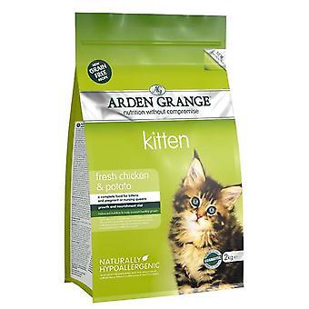 Arden Grange korn frie killing med frisk kylling & kartofler 2kg
