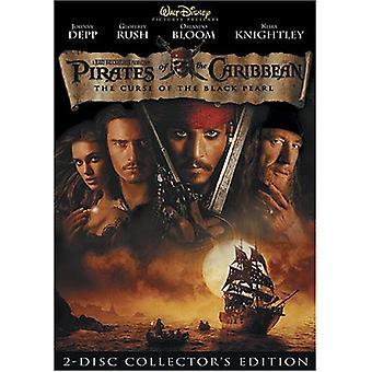 Pirater Caribbean-förbannelse av Black Pearl [DVD] USA import