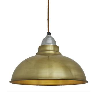 Old Factory Vintage Pendant Light - Brass - 12