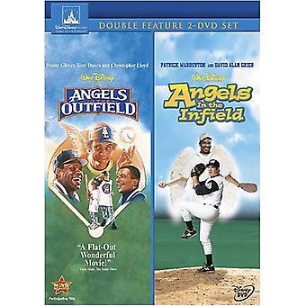 Angels in the Outfield & Infield [DVD] USA import