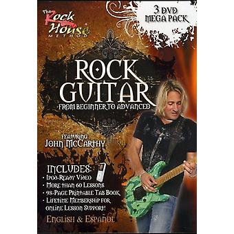 Rock Guitar Mega Pack [DVD] USA importerer
