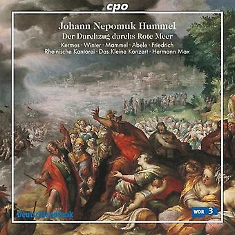 J.N. Hummel - Hummel: Der Durchzug Durchs Rote Meer [CD] USA import