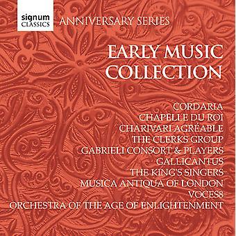 Tidlig musik inddrivning: Jubilæum - jubilæum serie: tidlig musik inddrivning [CD] USA import