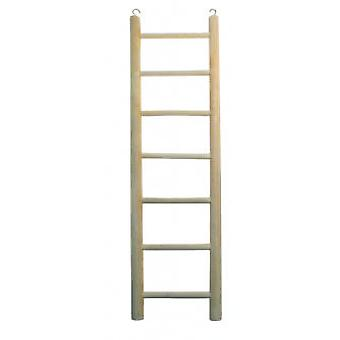 Arquivet Small 7 Sep Wooden Ladder (Birds , Bird Cage Accessories , Perches & Posts)