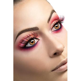 Eyelashes pink black artificial eye lashes