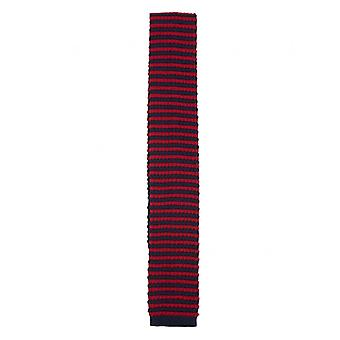Gibson London Striped Knitted Tie