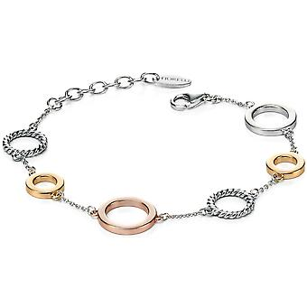 925 Silver Rose Gold Plated Fashionable Bracelet