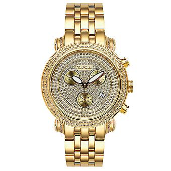 Joe Rodeo diamond men's watch - CLASSIC gold 3.5 ctw
