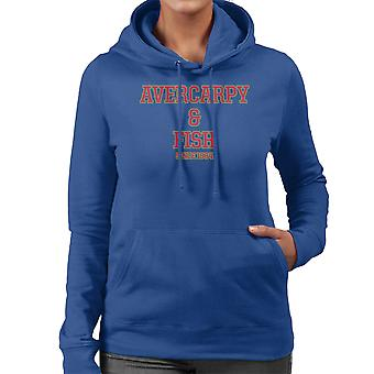 Abercarpie And Fish Abercrombie And Fitch Style Women's Hooded Sweatshirt