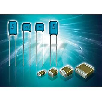 Ceramic capacitor Radial lead 1.5 nF 100 V 5 %