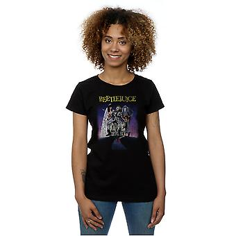 Beetlejuice Women's Distressed Poster T-Shirt