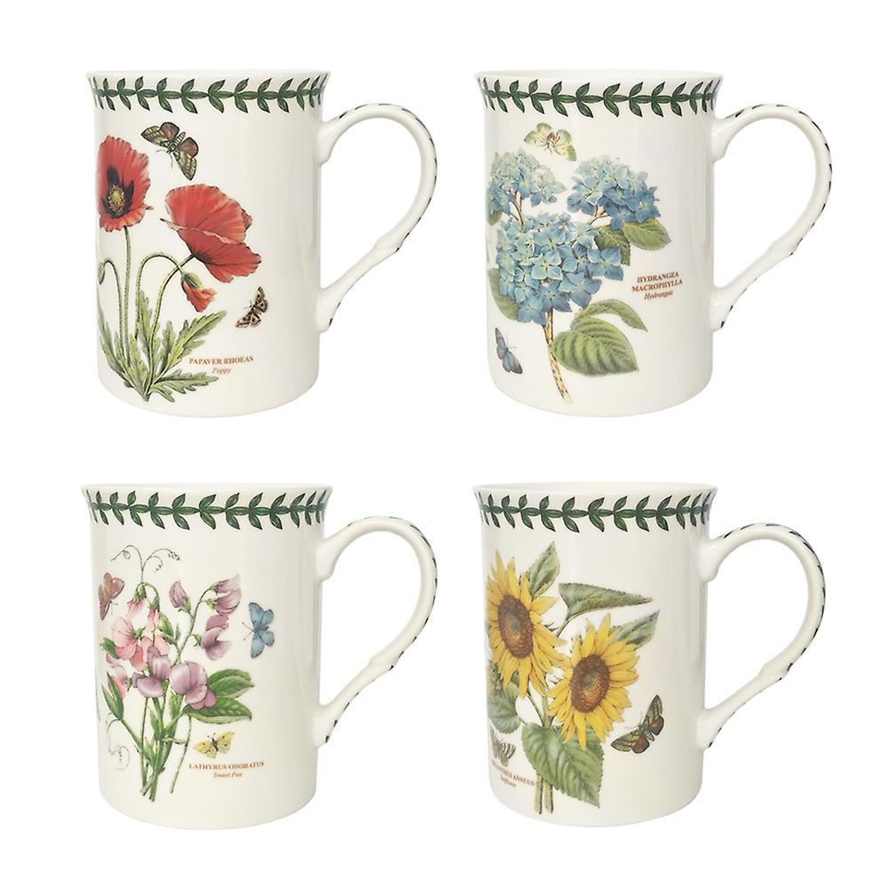 Portmeirion Botanic Garden Set Of 4 Mugs Fruugo