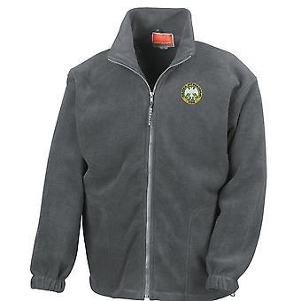 Vojska Serbian Montenegro Military Embroidered Logo - Full Zip Fleece