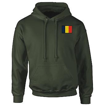 REME Royal elektriska maskiningenjörer - broderade TRF Logo - officiella brittiska armén Hoodie
