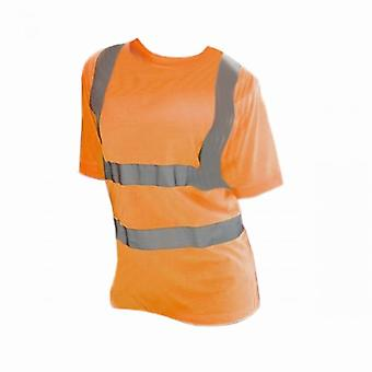Yoko Ladies/Womens Hi-Vis Short Sleeve T-Shirt