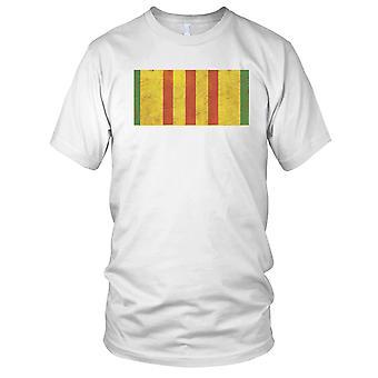 Guerra del Vietnam medaglia Grunge effetto Ladies T Shirt