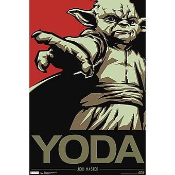 Star Wars - Yoda Poster Poster Print