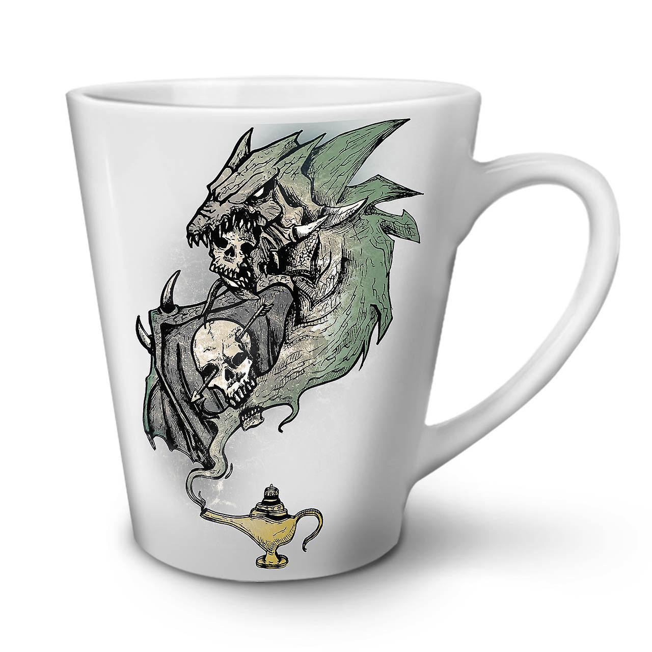 Crâne En Blanche Café Tasse Mystique 12 Céramique Latte Jin OzWellcoda Nouvelle pSMLqUVGjz