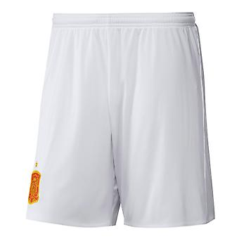 2016-2017 Spain Away Adidas Football Shorts (White)