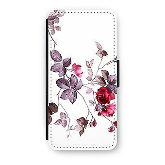 iPhone 5c Flip Case - Pretty flowers