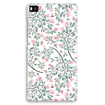 Huawei Ascend P8 Full Print Case - Dainty flowers