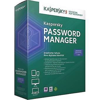 Kaspersky Lab Password Manager Full version, 1 license Windows Security