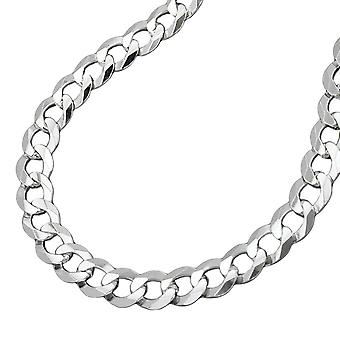 Ketting open curb chain zilver 925 50 cm