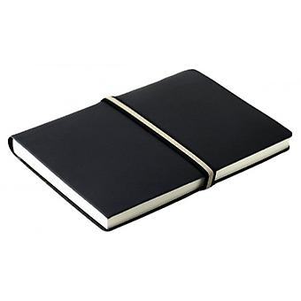 Coles Pen Company Abruzzi Large Tie Lined Journal - Black