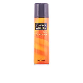 Royale Ambree Deodorant Vapo 250ml Unisex New Spray Sealed Boxed