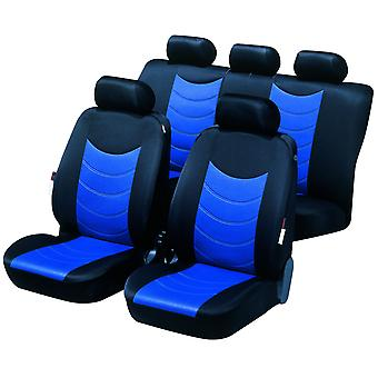 Felicia car seat Cover For, Black & Blue For Holden Zafira MPV 1999 to 2006