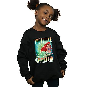 Disney Girls The Little Mermaid Ariel Montage Sweatshirt